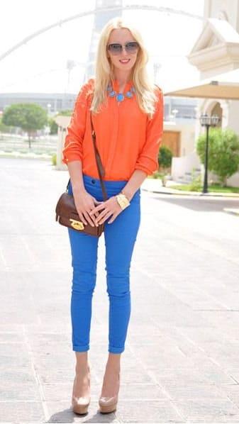 Combina El Color Naranja 14 Ideas Geniales Para Tus Outfits