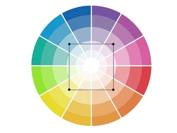 combinar los colores