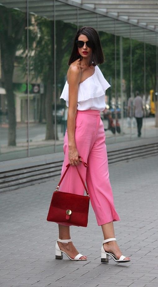 con que combinar el color rosa