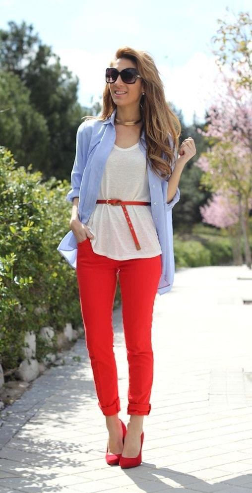 Combina El Color Rojo 15 Ideas Geniales Para Tus Outfits