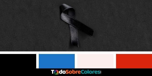 colores del luto
