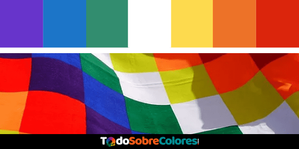 los colores whipala