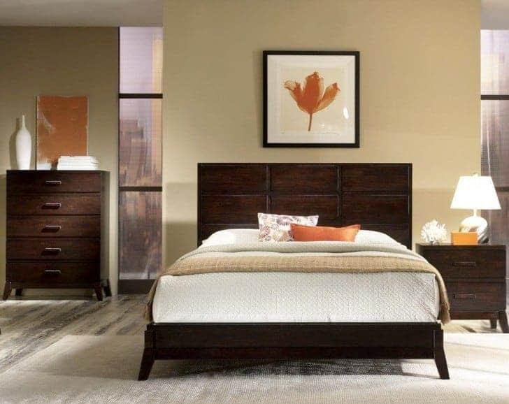 dormitorio de matrimonio beige