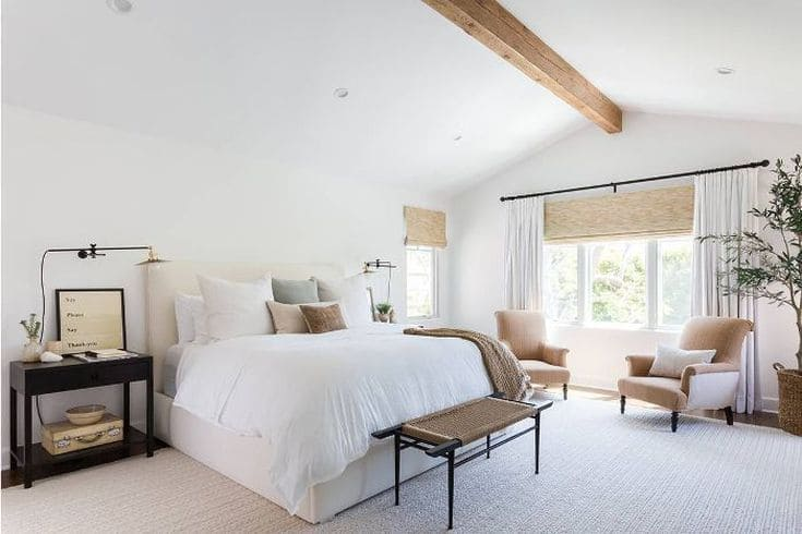 color pintura dormitorio matrimonial