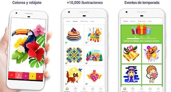 mejores apps para colorear